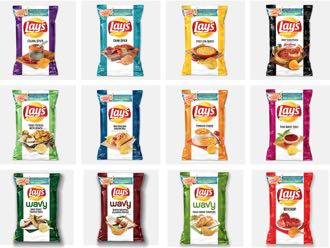 Lay's finds an odd way to roll out a dozen new flavors