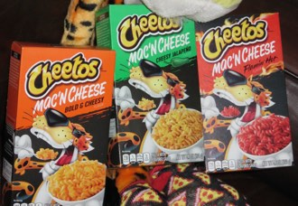 Finally, Cheetos-branded mac & cheese!