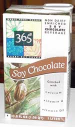 365 Non Dairy Enriched Soy Chocolate Beverage