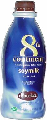 8th Continent Chocolate Soymilk