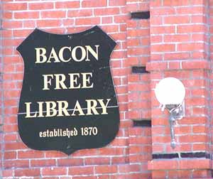 Bacon Free Library (South Natick, Massachusetts)