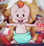 Baby from Bamba snacks