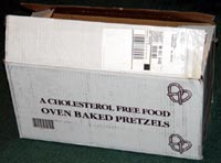 Benzel's Pretzels box