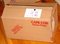 Cape Cod Potato Chips box