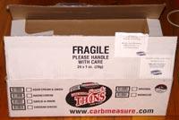 Carb Measure snacks box