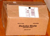 Dakota Style Potato Chips box