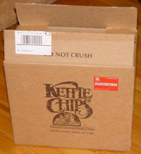 Kettle Chips box