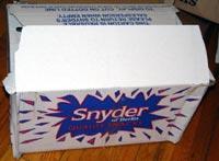 Snyder of Berlin box