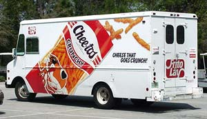 Cheetos truck