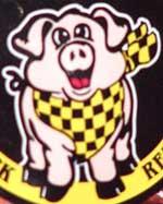 Cracklins Pig Mascot