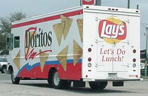 Doritos truck