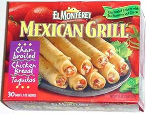 El Monterey Mexican Grill Taquitos