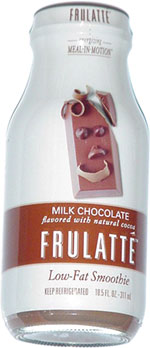 Super-expensive Frulatté Low-Fat Milk Chocolate Smoothie
