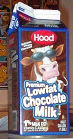 Hood Premium Lowfat Chocolate Milk, half-gallon size