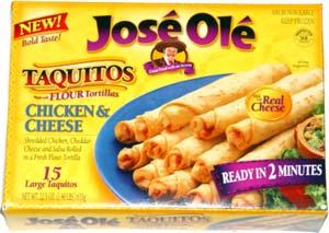 José Olé Chicken & Cheese Taquitos