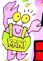 Kani Crab Mascot