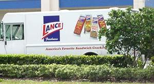 Lance Snacks truck