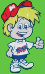 Chipper, the Moore's chips mascot