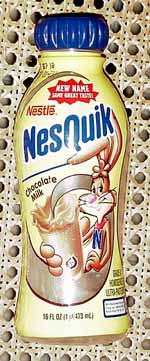 Nesquik new-fangled 16-oz. container