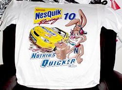 Nesquik T-shirt, other side