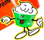 Old Dutch cheddar & sour cream mascot
