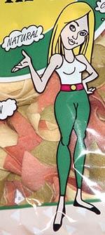 Robert's Veggie Chips mascot