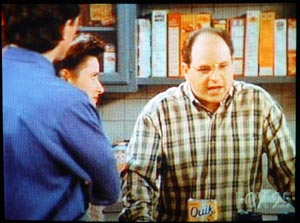 Box of Quik mix spotted on an episode of Seinfeld.