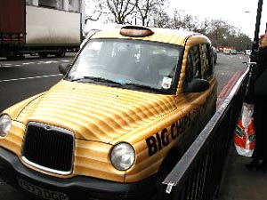 Walkers Max chips taxi