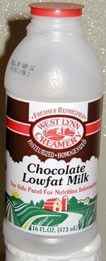 West Lynn Chocolate Lowfat Milk