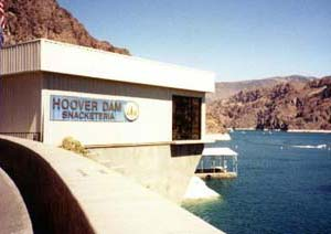 The Hoover Dam's Snacketeria