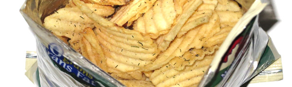 photo of Better Made Krinkle Cut Garlic Dill Pickle Potato Chips