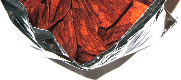 photo of Doritos Jacked Test Flavor: 2653 (Chocolate Chipotle Bacon)