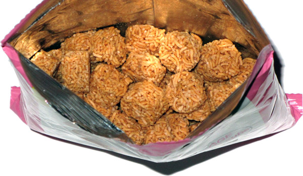 photo of Everyone Says Good Good Eat Japanese Ramen Noodle Wheat Crackers BBQ Cube