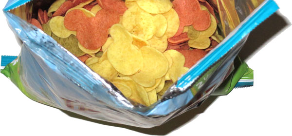 photo of Good Health Mickey Shaped Veggie Chips