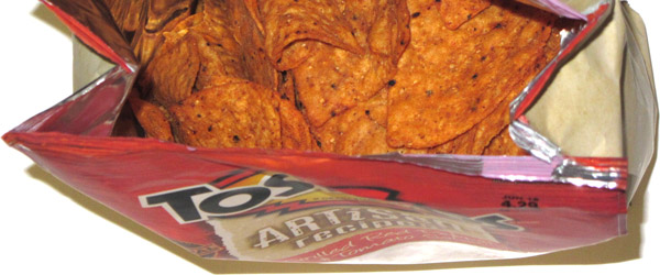 photo of Tostitos Artisan Recipes Grilled Red Pepper & Tomato Salsa