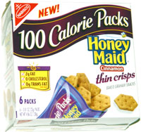 Honey Maid Cinnamon Thin Crisps 100 Calorie Packs