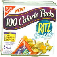 Ritz Snack Mix 100 Calorie Packs