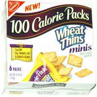 Wheat Thins 100 Calorie Packs