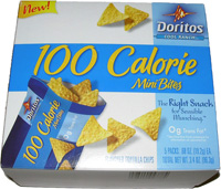 Doritos Cool Ranch 100 Calorie Mini Bites