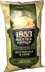 1853 Kettle Cooked Buttermilk & Herb Potato Chips