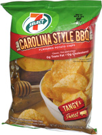 7 Select Carolina Style BBQ Potato Chips