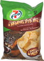 7 Select Memphis Style BBQ Potato Chips