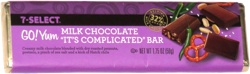 7-Select Go! Yum Milk Chocolate It's Complicated Bar