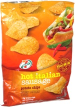 7 Select Hot Italian Sausage Potato Chips