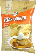 7 Select Peach Cobbler Kettle Style Potato Chips