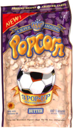 A Super Amazing Popcorn Soccer Balls