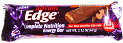 Advant Edge Complete Nutrition Energy Bar Chocolate Caramel