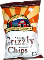 Denali Grizzly Barbecue Chips