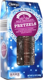 Clancy's Milk Chocolate Pretzels