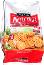 Alexia Waffle Fries Hot Pepper